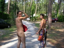 nude at campsite 27