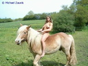nude with horse 122