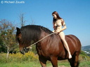 nude with horse 131