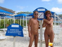 nudists couple
