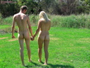 nudists nude naturists couple 0049