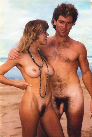 Vintage Sexy Nudist Couples